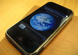 iPhone Activate Screen