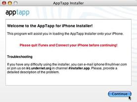Apple iPhone AppTap Installs Third Party Software Without Hacking