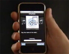 Apple iPhone VoiceSignal Voice Recognition Software