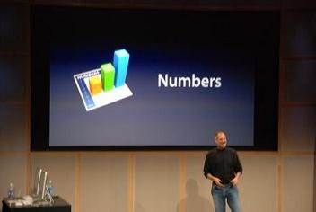 Apple iWork 08 Numbers