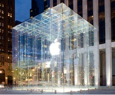 Apple Store New York Glass Box