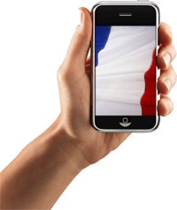 First month of sale for the iPhone in France