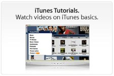 iTunes Music Store Tutorials