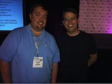 Chris Rauschnot and Matt Cutts PubCon 2010 Las Vegas