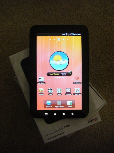 Samsung Galaxy Tab Main 3 Screen