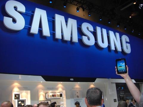 Samsung CES 2011 Booth Galaxy Tab