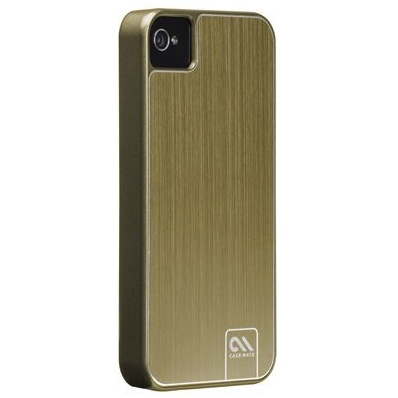 Case-Mate Barely There Brushed Aluminum Case Gold