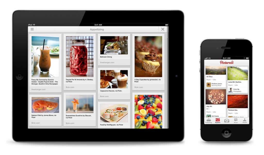 Pin this pinterest releases android ipad apps the for Pinterest download