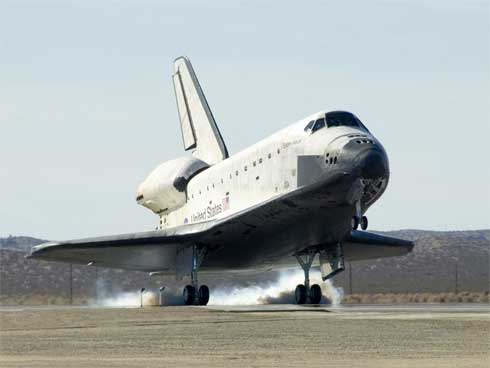 Space Shuttle Endeavour Landing with NASA 747