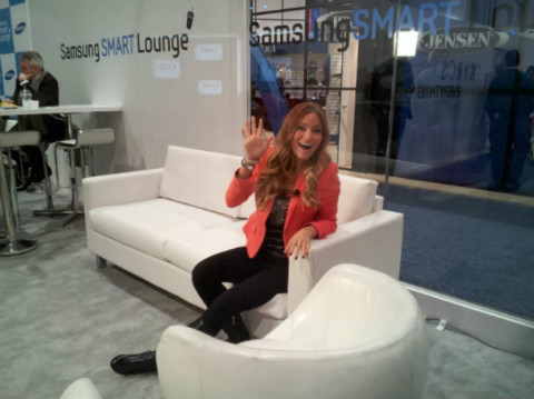 iJustine at 2013 Samsung Smart Lounge