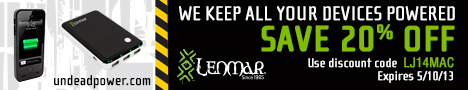 Lenmar 20 Percent Off Limited Time