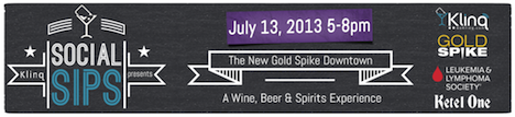 Social Sips by Klinq at Gold Spike