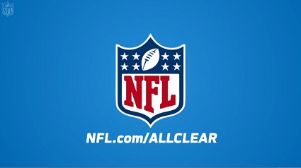 NFL All Clear page