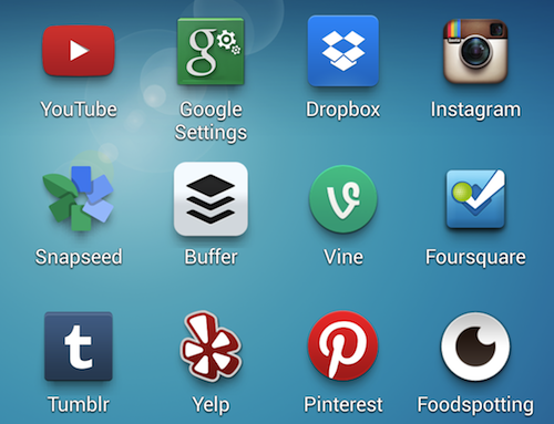 My Favorite Apps On The Samsung Galaxy S4 2