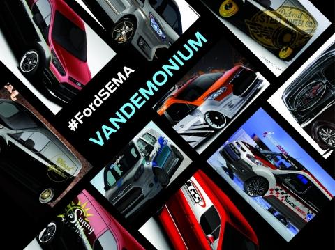 Vandemonium 2013 Ford SEMA