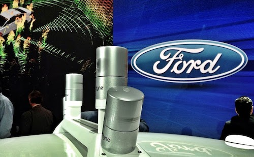 Ford Fusion Hybrid With LiDAR