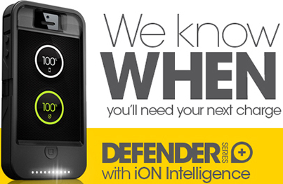 Otterbox Defender With iON Intelligence iPhone 4S Case