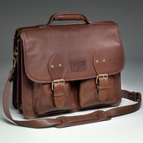 Bashful Billionaire's Leather Briefcase