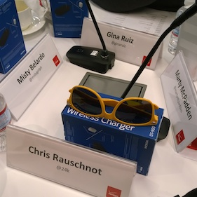 Chris Rauschnot Verizon Influencer Summit 2014 Name Tag