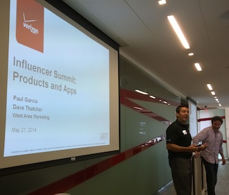 Verizon Influencer Summit Products and Apps
