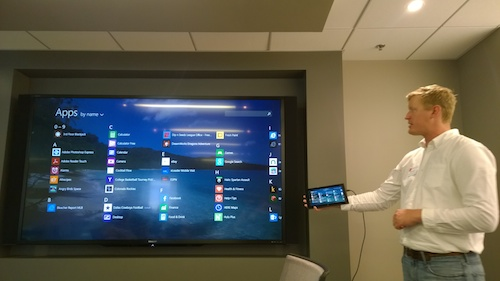 Nokia Lumia 2520 Apps Presentation