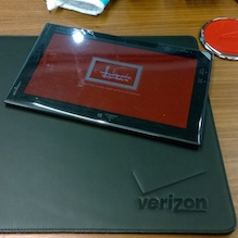 Nokia Lumia 2520 Tablet Verizon Boardroom