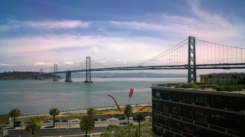San Francisco Bay Bridge View