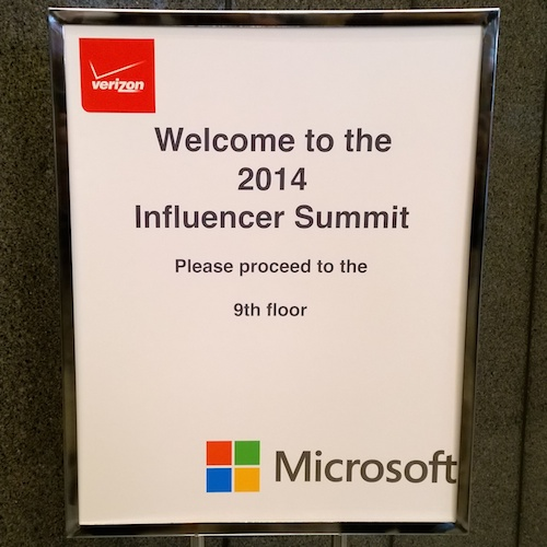 Welcome To The 2014 Verizon Wireless Influencer Summit