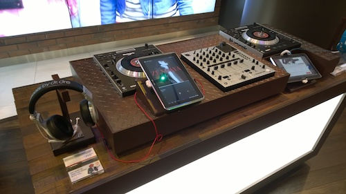 Amplify It Zone DJ Deck Verizon Destination Store