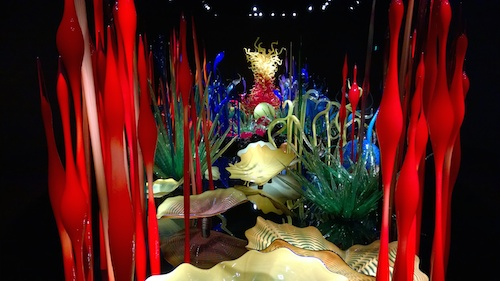 Chihuly Garden and Glass Giant Glass Sculptures