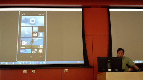 Microsoft Cortana Voice Assistant Demo