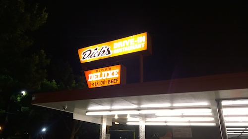 Dick's Drive-In Seattle Burgers