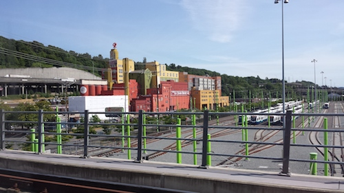 Link light rail Downtown Seattle