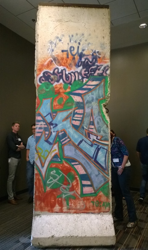 Microsoft Building 33 Berlin Wall Section