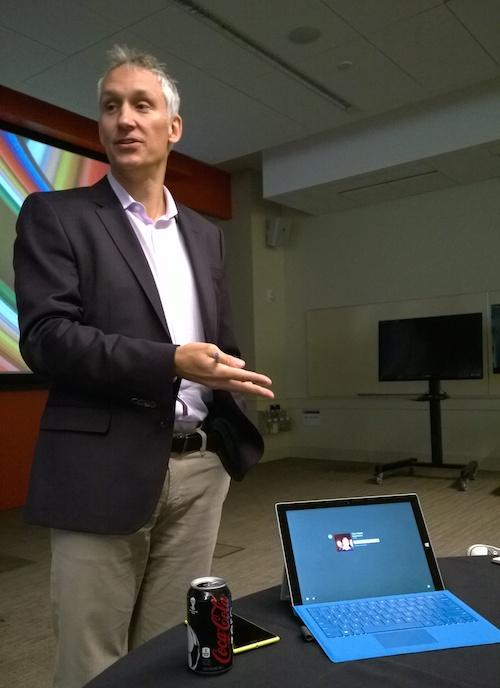 Microsoft CVP Chris Weber Mobile Device Sales Surface Pro 3