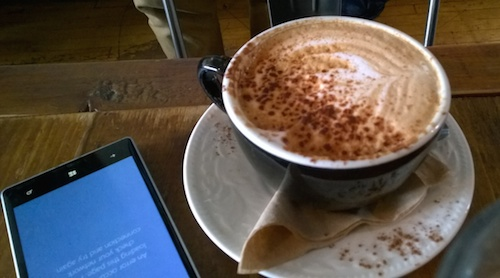 Oddfellows Cafe Coffee Lumia Smartphone