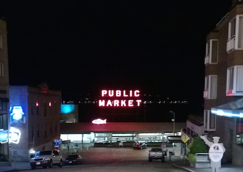 Pike Place Public Market Downtown Seattle
