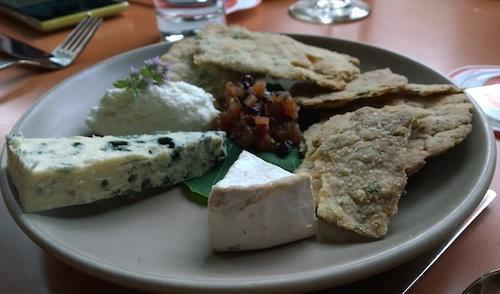 Poppy Restaurant Cheese Plate