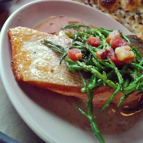 Poppy Restaurant Salmon