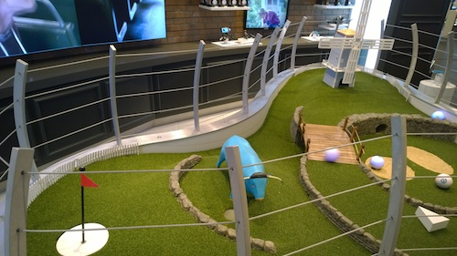 Sphero Robotic Ball Obstacle Course At The Verizon Destination Store