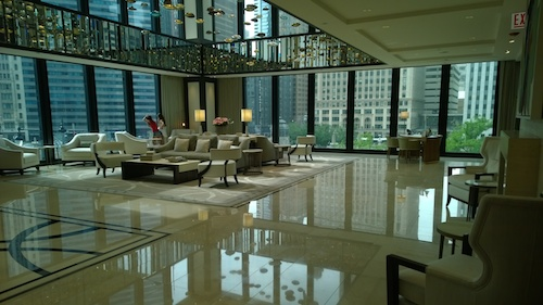 The Langham Chicago 2nd Story City View