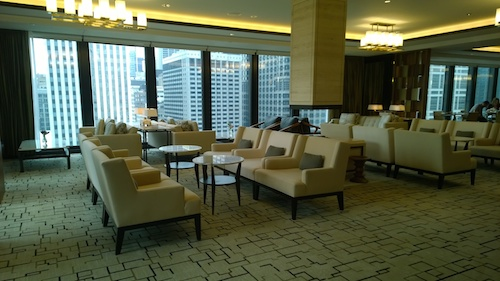 The Langham Chicago Club Level Lounge