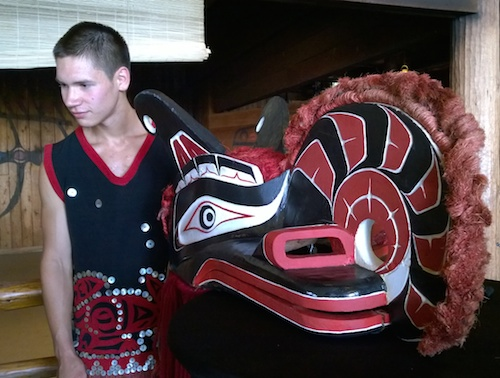 Tillicum Village Native American Performer