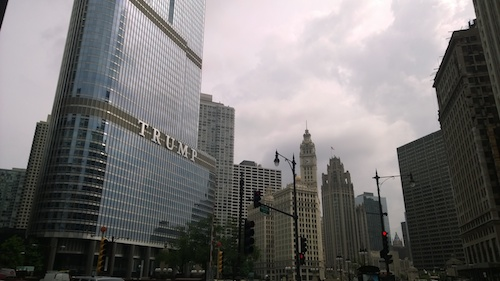 Trump Chicago Large Marquee Sign