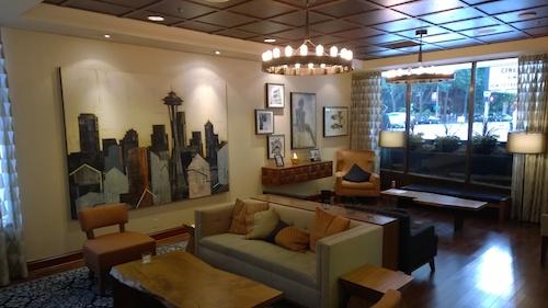 Warwick Seattle Hotel Lobby