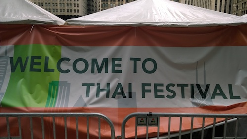 Welcome To Thai Festival