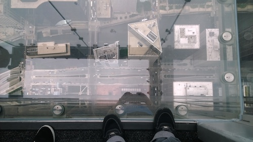 Willis Tower Chicago Skydeck Glass Box