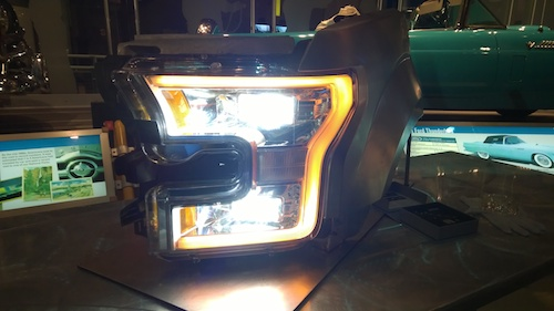 Ford Rouge Plant F-150 LED Lights