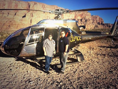 Grand Canyon Sunset Picnic Helicopter Flight With Bill Chris