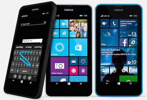 Microsoft Lumia 635 Smartphone